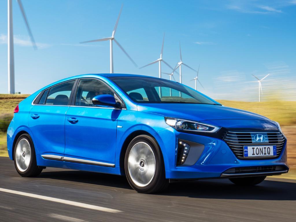 Hyundai Ioniq hybrid: Due in December