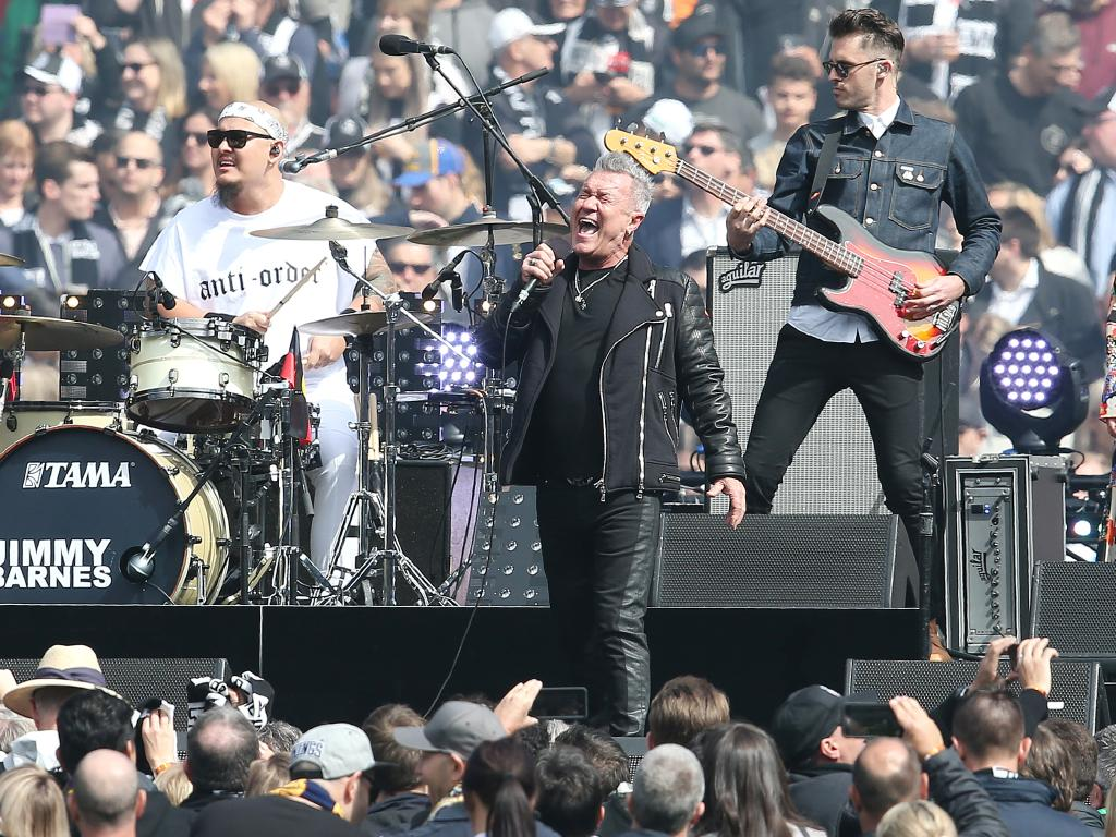 Jimmy Barnes is nominated for best soundtrack. Picture: Michael Klein