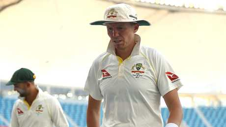 Peter Siddle returned Australia's best bowling figures. Picture: Getty Images