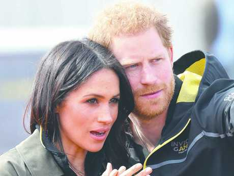 Meghan and Harry at the UK Team Trials for the Invictus Games in Sydney. His star power has only risen since the two became a couple. Picture: Chris Jackson/Getty Images