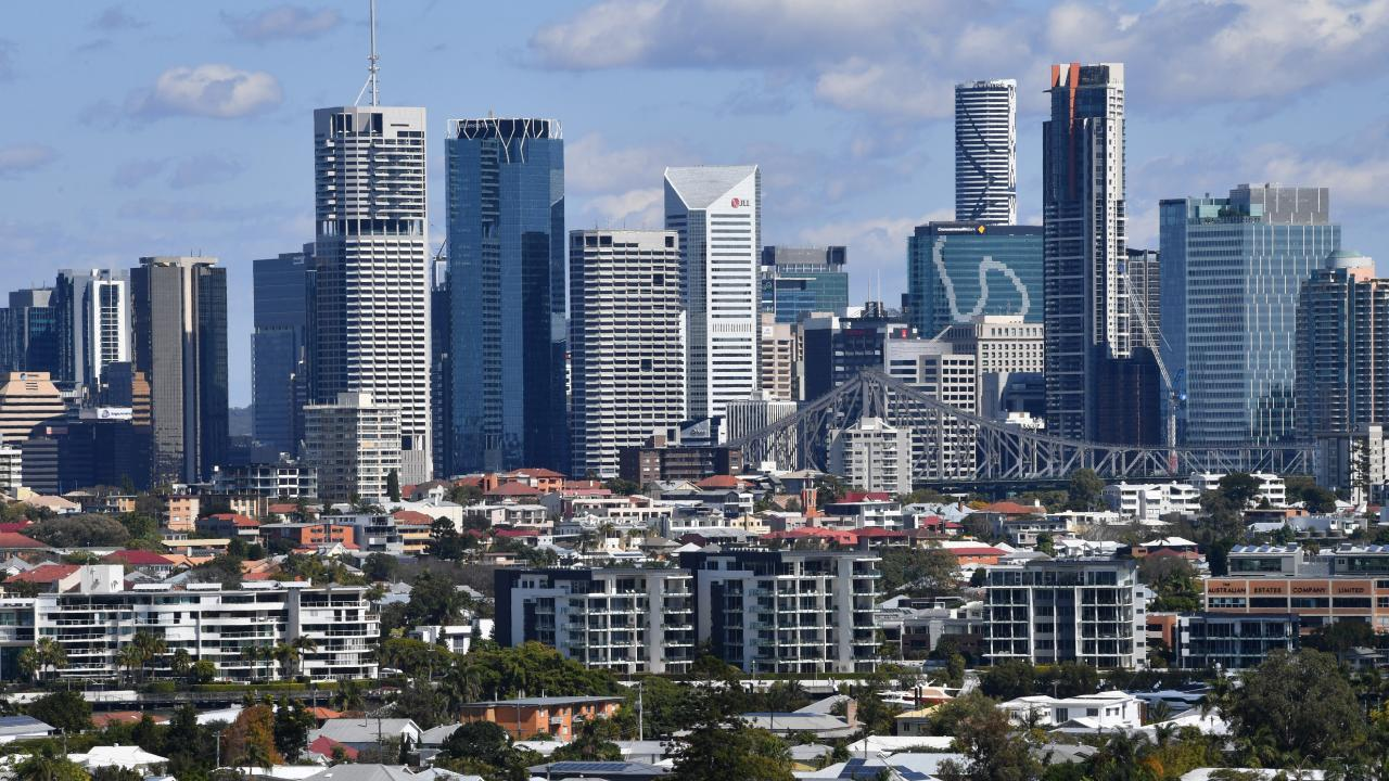 Brisbane's skyline is capped at 274.3m, whereas the Gold Coast has no height limit. Picture: AAP/Darren England
