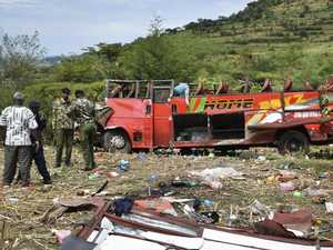 Dozens killed as roof torn off bus