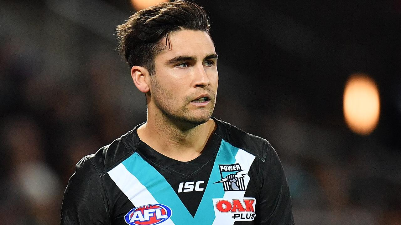 Chad Wingard is set to leave Port Adelaide.