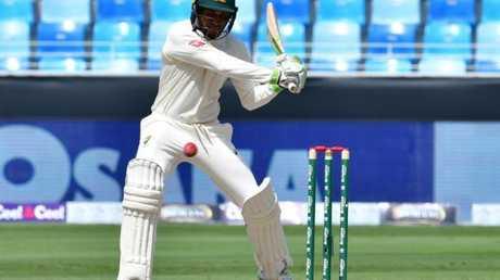 Usman Khawaja played the innings of his career.