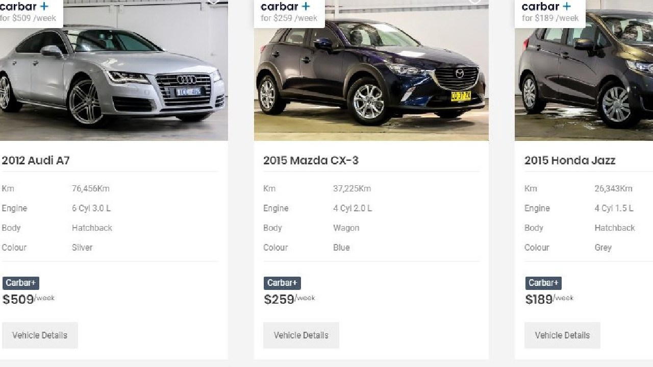 Carbar has a choice of both luxury and mainstream vehicles.