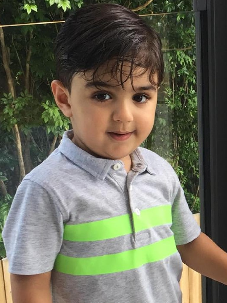 Marco Seraji, 4, died in the tragedy