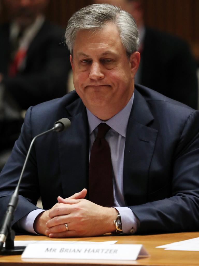 CEO of Westpac Brian Hartzer. Picture Gary Ramage