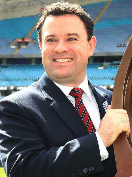 NSW Sport Minister Stuart Ayres