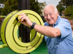 Young at heart: Seniors to stay healthy with own playground