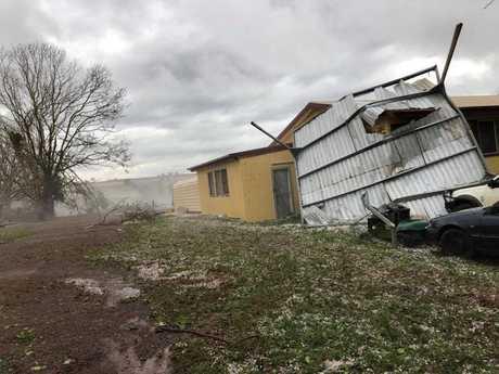 Damage to Damien Tessmann's property.