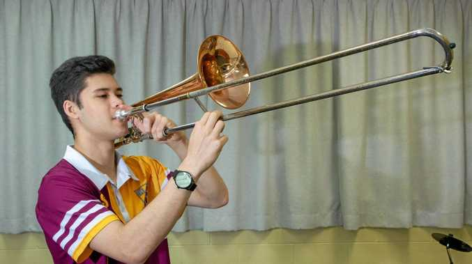 PASSION: Tan McKie took part in the State Honours Ensemble Program last week.
