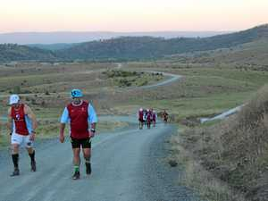 Runners trek gruelling course on path to triumph