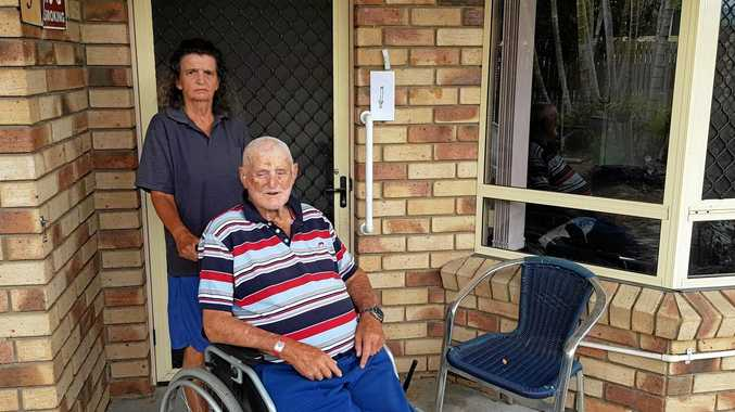 HOUSING NEEDED: Elderly couple Lyn Luxton and David Sichter would be out on the street if they couldn't find accommodation by Monday.