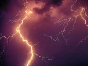 Gin Gin smashed by 4-5cm hail: More storms on way for region