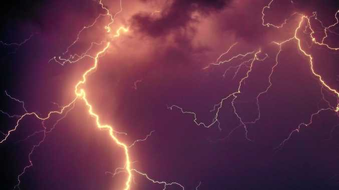 WILD WEATHER: More storms are forecast across the region today, with rainfalls of up to 90mm predicted for Saturday.