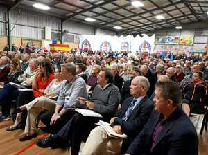 Hundreds pack PCYC in opposition to 'bypass'