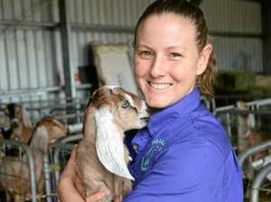 HOME GROWN: Neighbours share their love of dairy goats