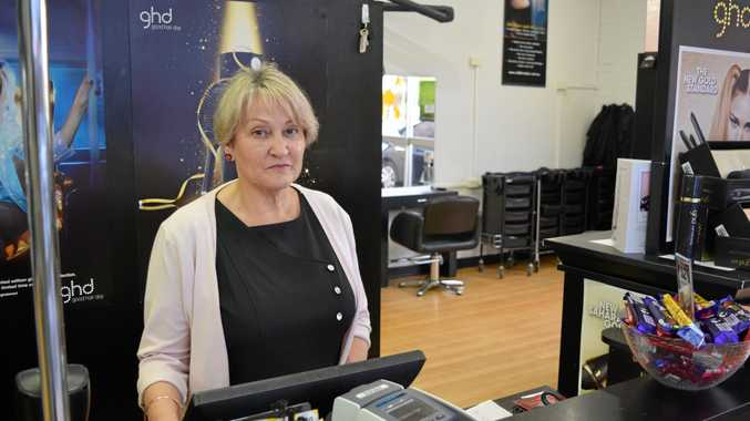 FUNDING NIGHTMARE: Kepnock Hair owner Geri Sayre says she is disappointed with the red tape involved in applying for government grants to put on an apprentice.