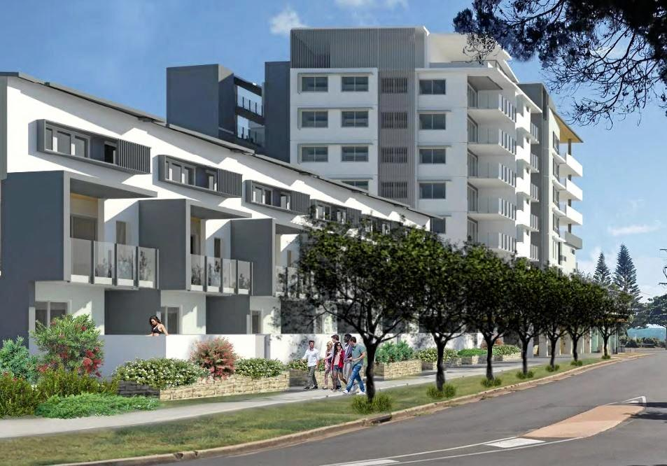 JEWEL BARGARA: An artist's impression of the approved high rise on the Bargara esplanade.