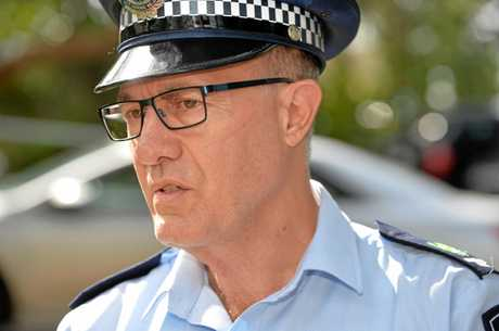 Former Caloundra police officer-in-charge Senior Sergeant Gavin Ricketts.