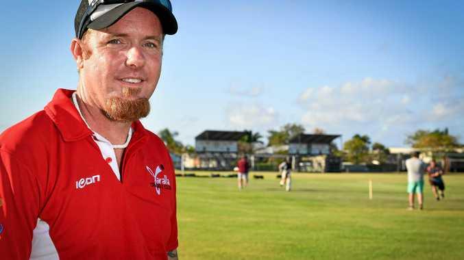 REVISED SET-UP: Yaralla Cricket Club senior cricket manager Matt Fairhall.