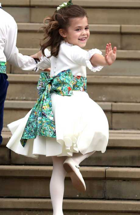 Robbie Williams' daughter Theodora. Picture: Steve Parsons - WPA Pool/Getty Images