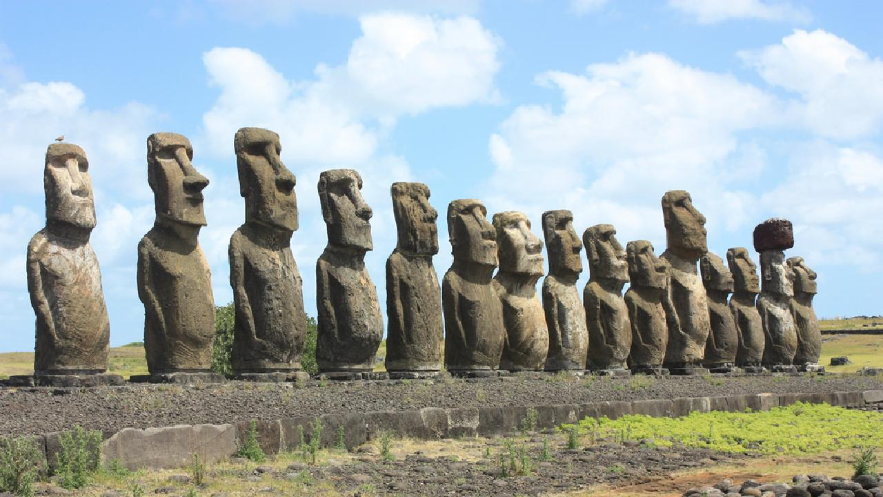 Easter Island is fascinating. Picture: Arian Zwegers