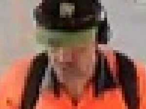 Cops on hunt over upskirter's sly train trick