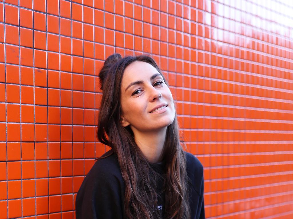 Australian singer Amy Shark poses for a portrait in Darlinghurst, Sydney. Picture: Brett Costello