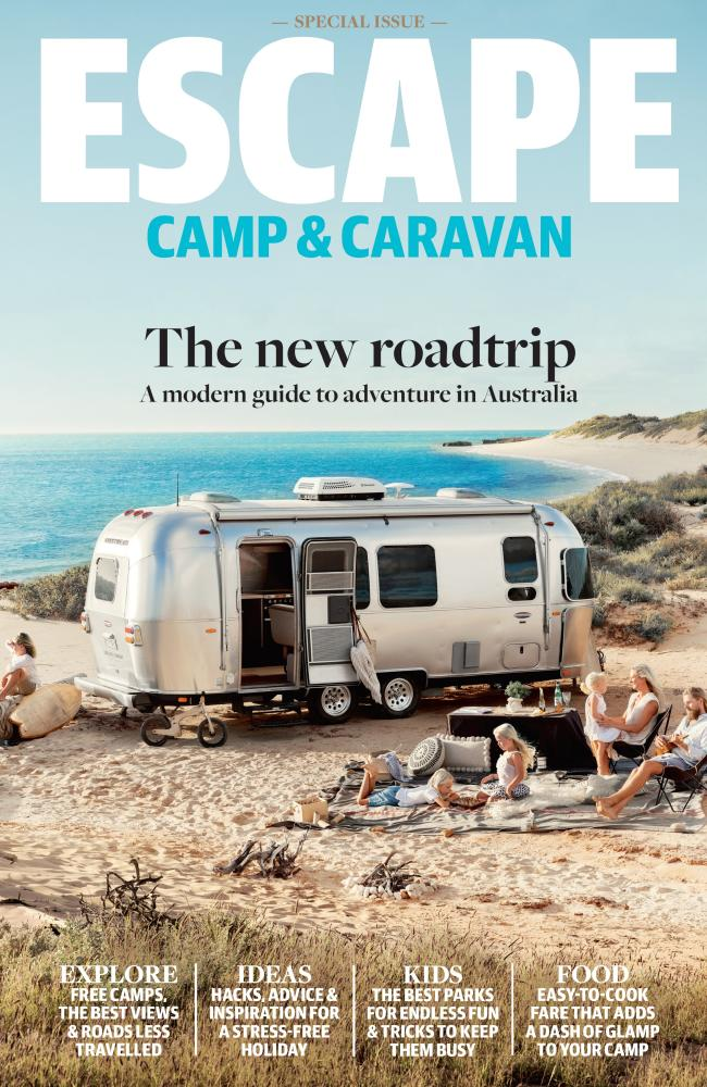 The Pooles' story appears in the Escape Camp & Caravan edition, out now. RRP $9.95.