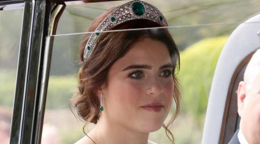 Princess Eugenie chose a wedding dress by British designer Peter Pilotto. Photo: Chris Jackson/Getty Images