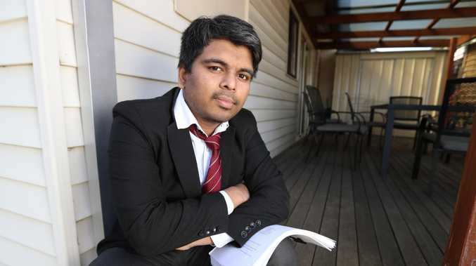 Monash University student Chinmay Naik fought his fail grade over a current affairs journalism assignment in the Supreme Court. Picture: Alex Coppel