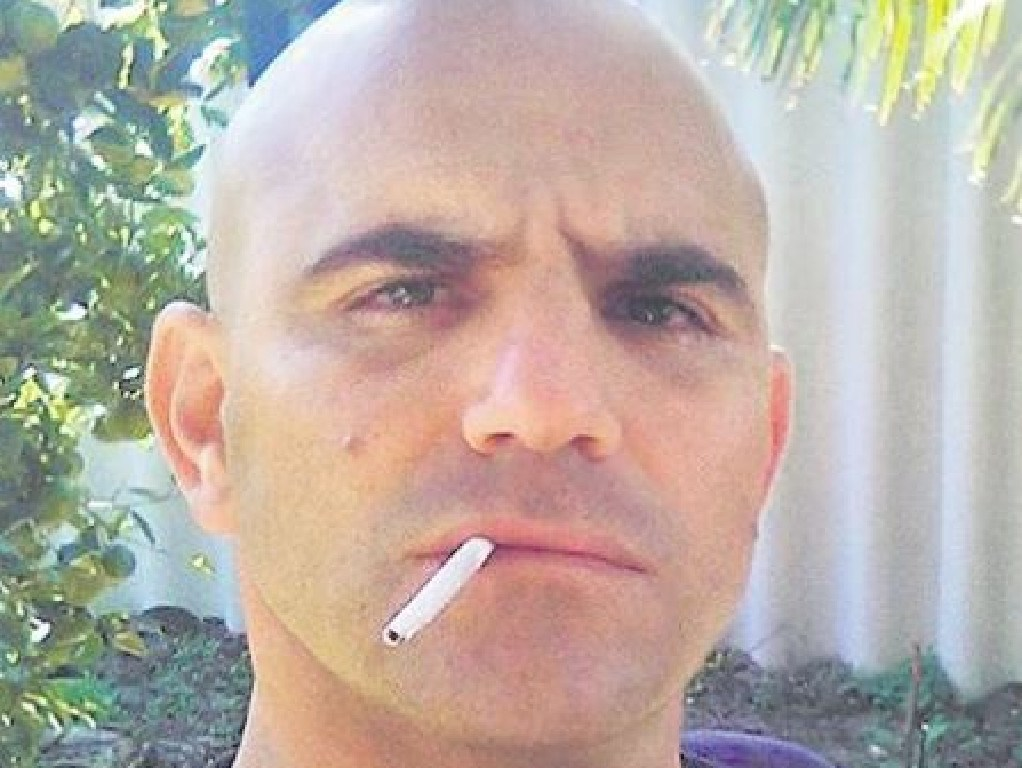 Ex-boxer Milos Radovic has been found guilty of attempted murder after attacking a police officer with a samurai sword. Picture: Facebook