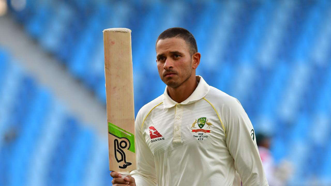 Usman Khawaja produced the innings of his career to save Australia, and top our ratings. Picture: Getty
