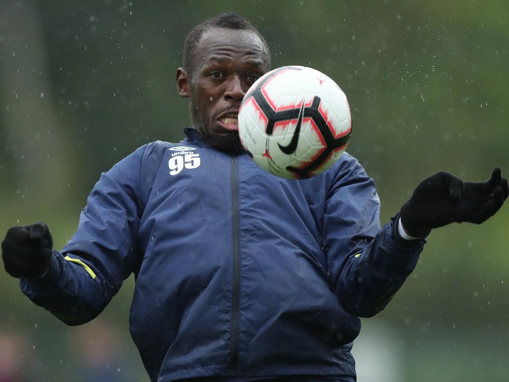 Usain Bolt is improving his skills and fitness as he fights for a Mariner contract.