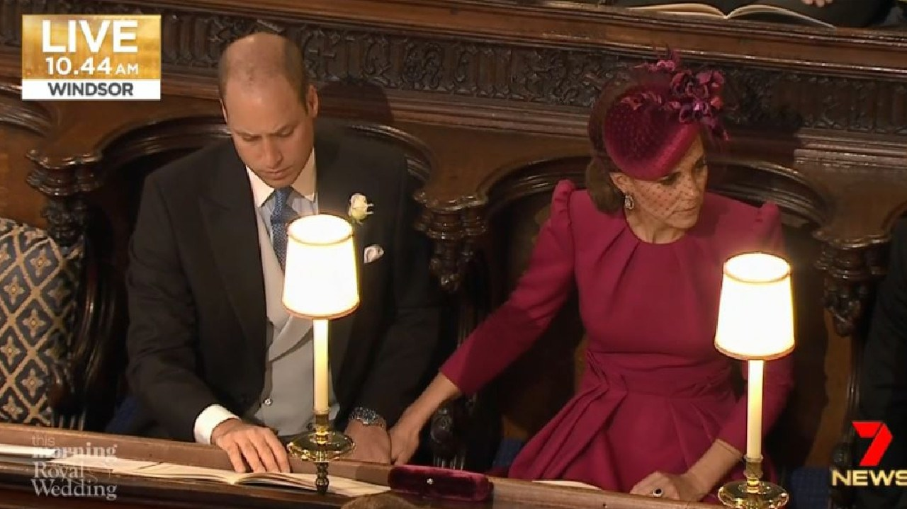 PDA much! Get a room, royals.