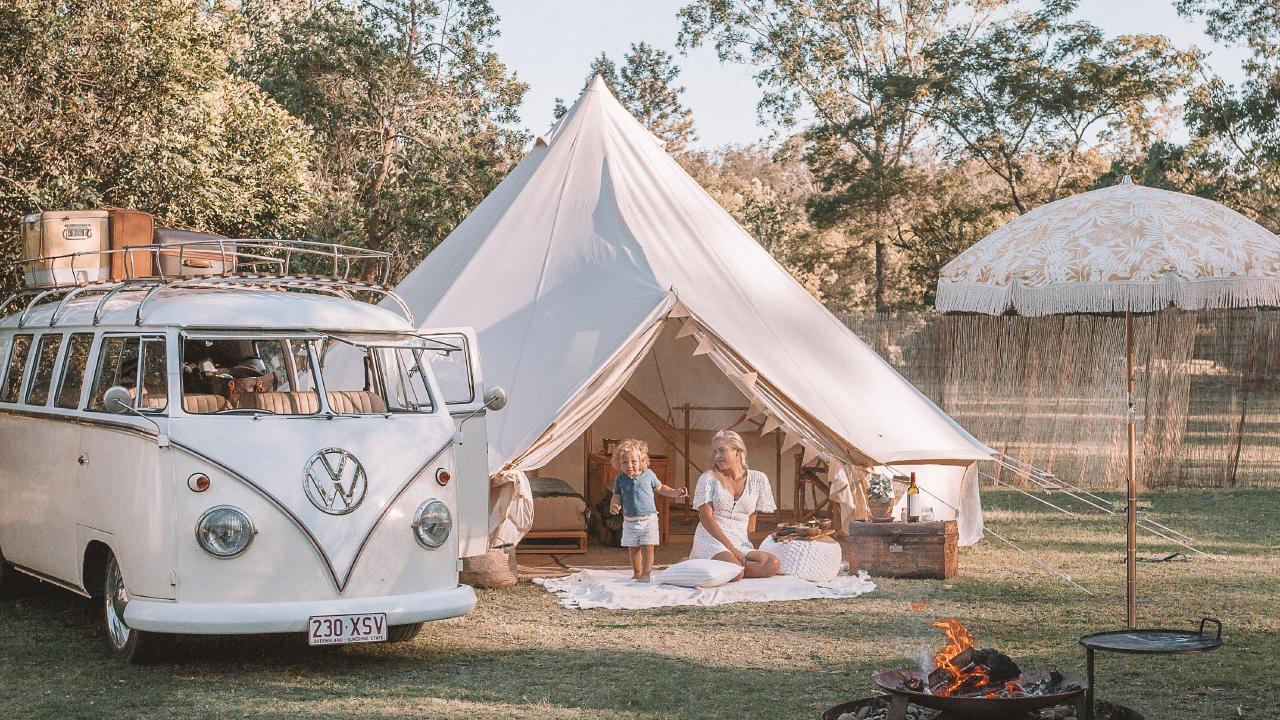The Poole family is part of the new generation of Australian campers.