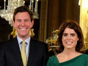 WEDDING PASHERS: Eugenie and Jack in fairytale royal union