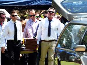 Father farewelled after Alva Beach stabbing
