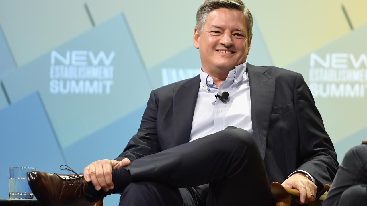 Netflix chief content officer Ted Sarandos. Picture: Matt Winkelmeyer/Getty Images