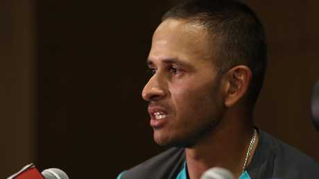 Usman Khawaja produced a career-defining century in Dubai.