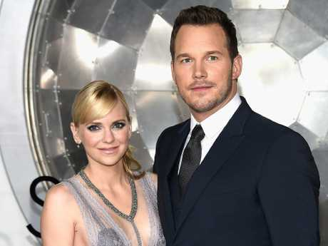 Anna Faris and Chris Pratt split up after eight years of marriage. Picture: Matt Winkelmeyer/Getty