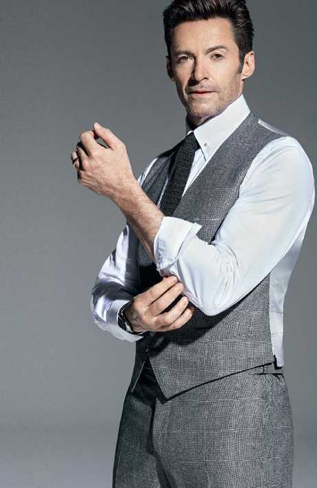 Hugh Jackman in usual repose. Picture: Ben Watts/GQ