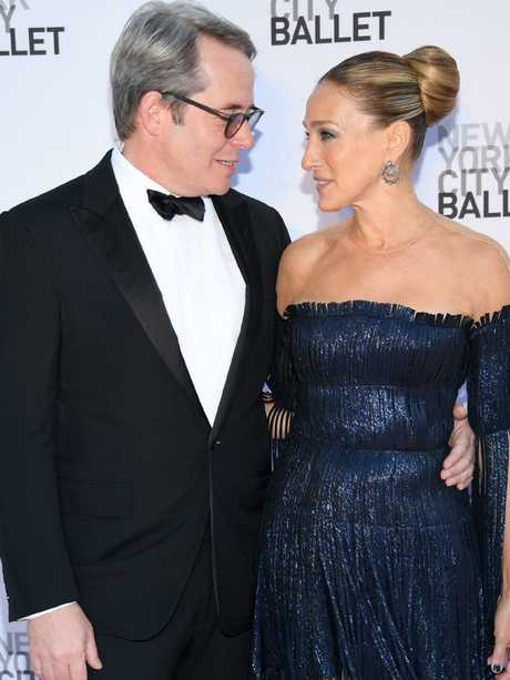 Matthew Broderick and Sarah Jessica Parker. Picture: Dimitrios Kambouris/Getty