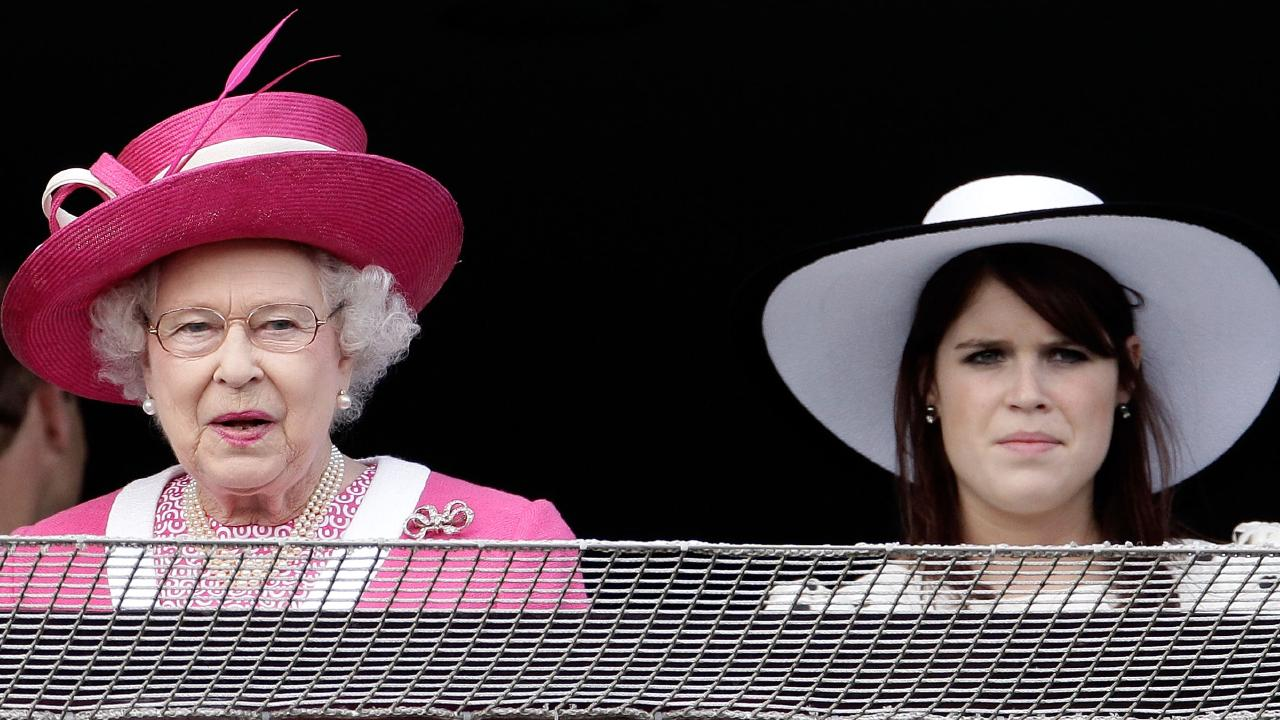 Forget the groom — it's her grandmother who Eugenie isn't allowed to keep waiting.