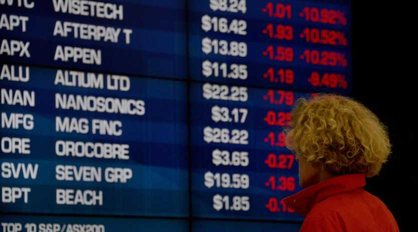 Thursday's sell-off wiped $50 billion from the ASX. Picture: Peter Parks/AFP