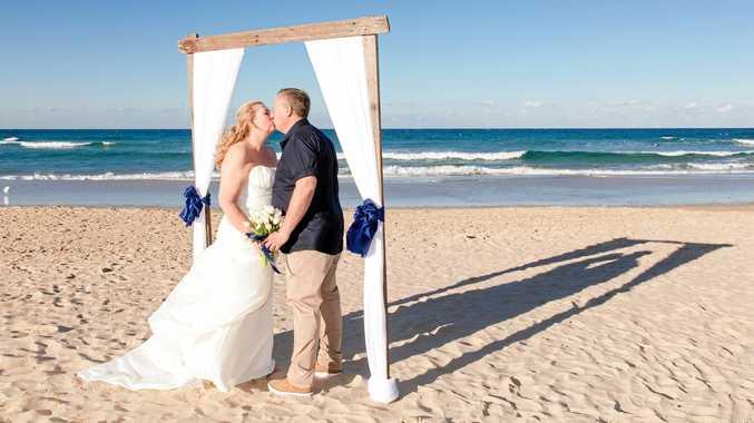 Carol McKenzie has married Lyndon Smith at Coolum.