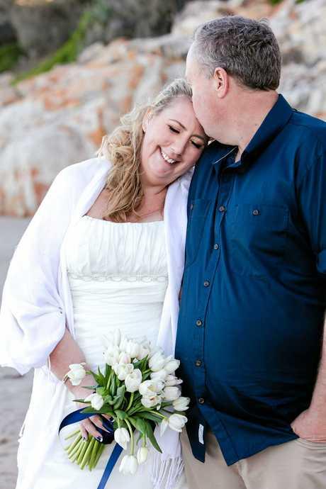 CONGRATS: Carol McKenzie has married Lyndon Smith at Coolum.