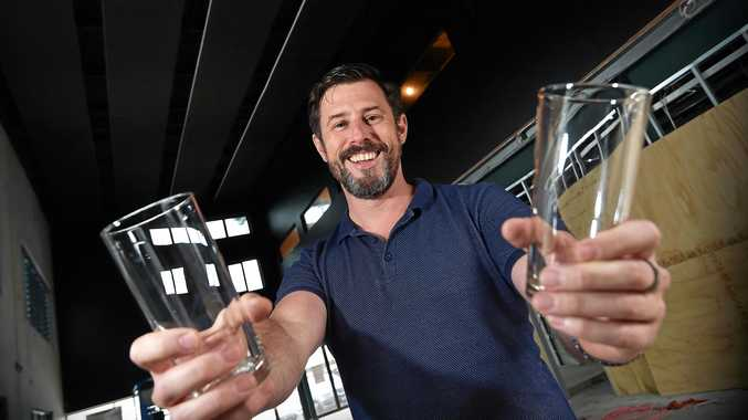 CHEERS: Simon Michelangeli is opening up a brewery and pizzeria in the Kunara precinct in Mons.