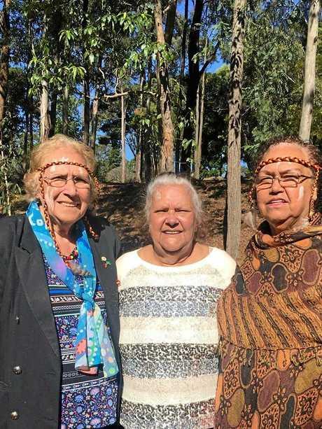 Elders Auntie Glenice, Auntie Vanessa and Aunty Christine.